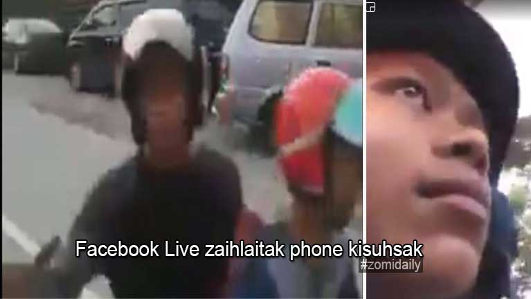 Malaysia, Setapak ah Facebook Live azaihlaitak phone kisuhsak
