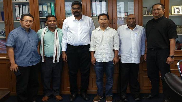 Malaysia zinna thu tomkim leh MTUC (Malaysian Trades Union Congress) tawh kimuhna