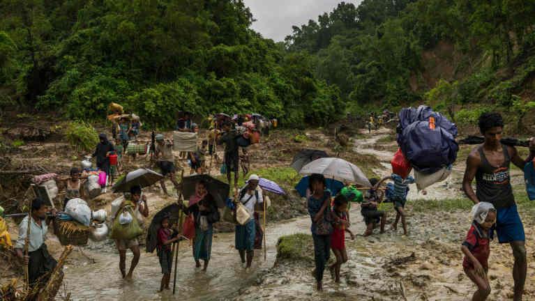 Rakhine State sung buaina hangin Bangladesh ah ataikhia Rohingya mi 125,000 phakhinta