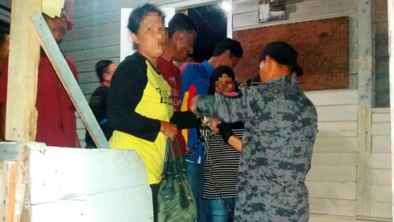 Malaysia, Terengganu ah Operasi lutin gamdangmi 13 kiman