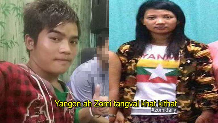 Yangon ah Zomi tangval khat kithat (Tg. Kam Gin Mung, Tuithang)