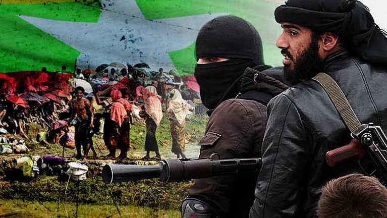 Al Qaeda te'n Rohingya vai hangin Myanmar gawtbawlsawm