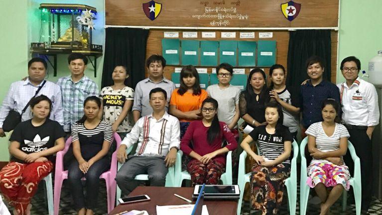 Lamka sanggamte' vai: Yangon pan India ciahthei tading