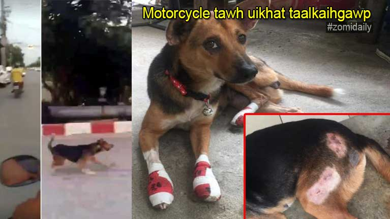 Bangkok ah pasal khatah Motorcycle tawh uikhat taalkaihgawp in kiman