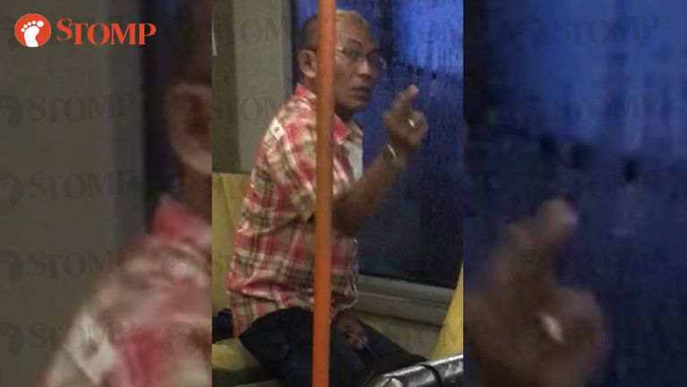 Singapore Bus tungah pasal khatin zun athaklaitak Video kizaih in hehmahmah