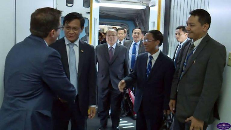 UNO Assembly Khawmpi kahding Pu Van Thio leh Pu Hau Do Suan