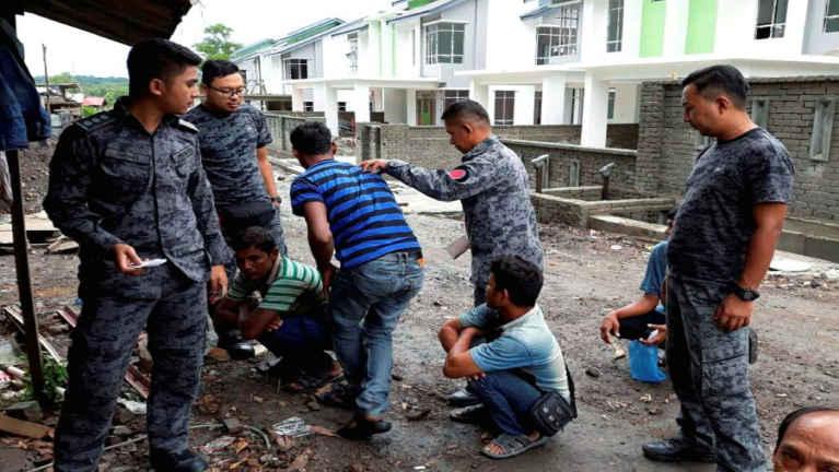 Malaysia, Terengganu ah Operasi lut in, mi 14 kiman, Myanmar kihel