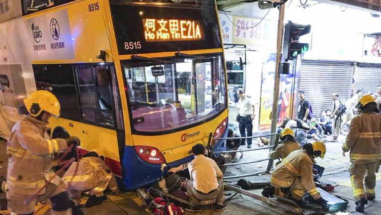 Hong Kong khuasung ah Citybus khat tuahsia in mi 3 si, 20 val liam
