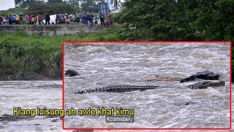 Malaysia, Klang River luisung ah awle khat ki galmuh