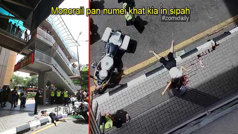Kuala Lumpur, Monorail meileng Station tungpan in numeikhat kiasuk in sipah