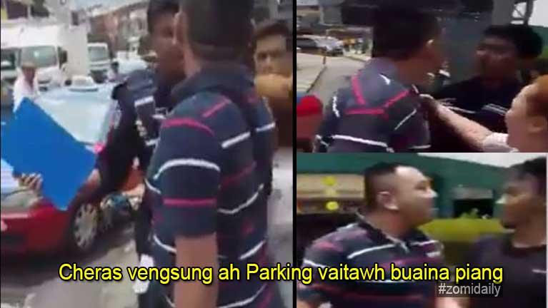 Malaysia, Cheras vengsung ah mawtaw Parking vaitawh kitotna piang