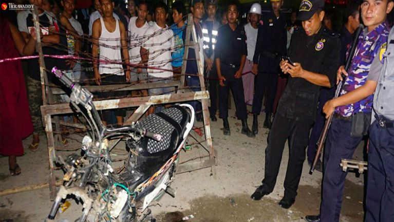Mandalay ah apuakkham omin mi 1 liam, Motorcycle khat sia