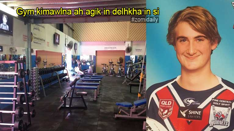 Aussie ah Gym kimawlna Weights Equipment in khangno kum 15 khat delhkha in si