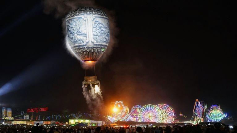 Myanmar, Taunggyi Balloon pawipi ciangin Security khauhsak mahmahding