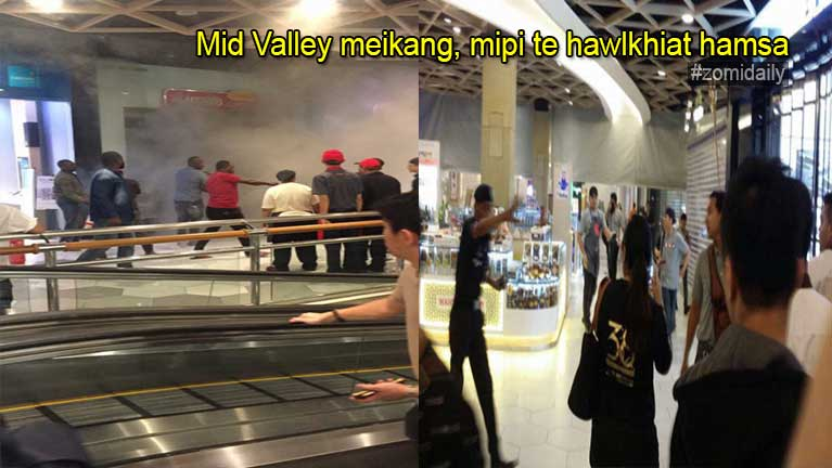 Mid Valley Shopping Mall meikatna ahangpen Electric meikhau pan ci