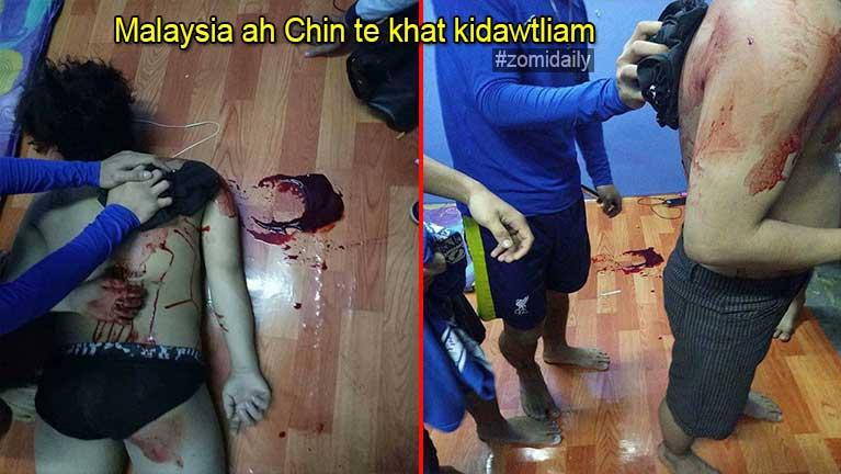Malaysia ah Chin tekhat Rakhine te'n temta tawh dawtliam