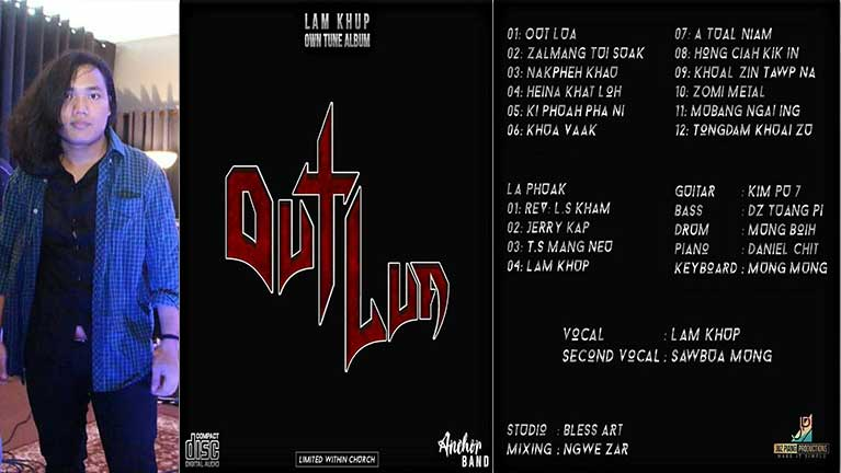"Lam Khup ii ""Out Lua"" CD Album thak ki hawmkhiading"