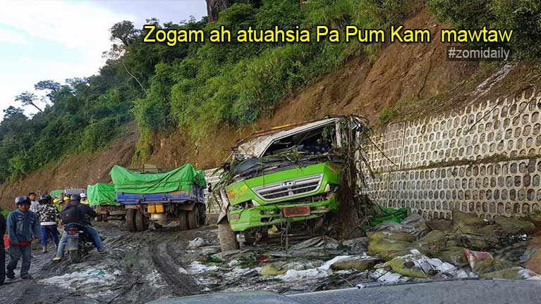 Pa Pum Kam Motor vai ZYA pan pulakna (mawtaw accident)