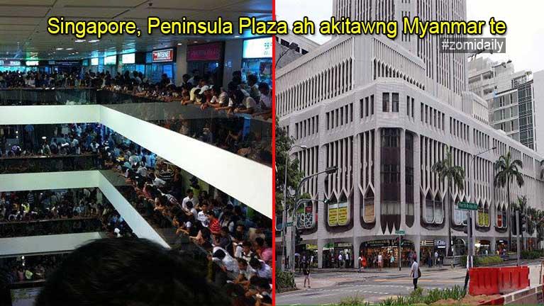 Singapore ah akitawnggawp Myanmar 7 te kumkhattek thongkiading