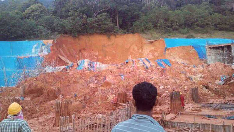 Penang Construction Site ah akivulhnelh misi luang 8 kimukhiata, Myanmar 3 kihel