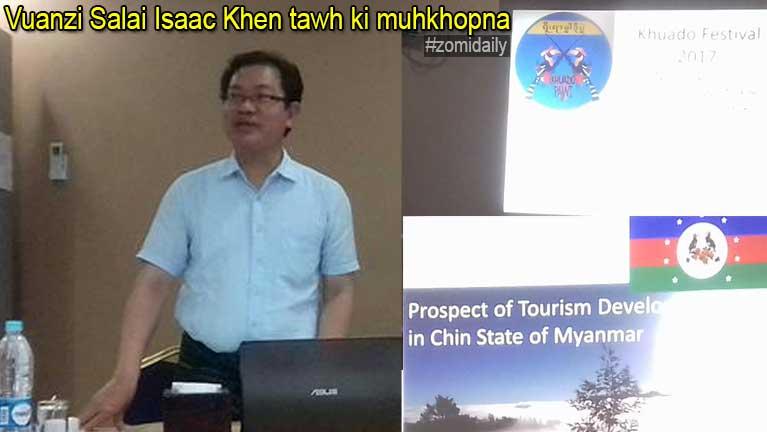 Vuanzi Salai Isaac Khen in Media le kipawlnate State level – Khuado vai kimuhpih