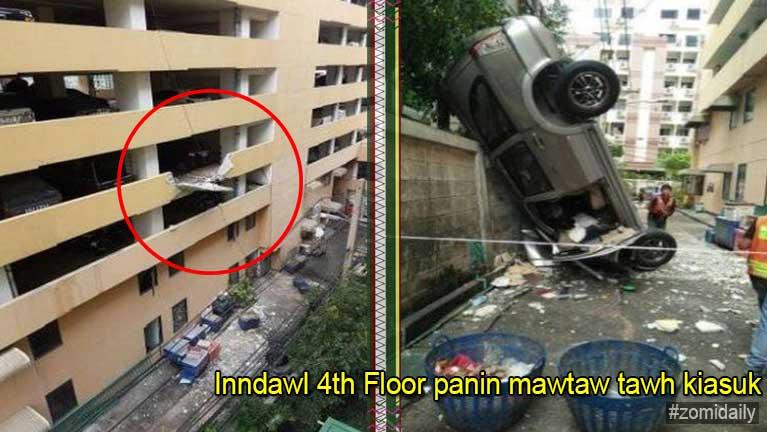 Bangkok ah kum 62 papikhat mawtaw tawh inndawl 4 Floor pan kia in silo