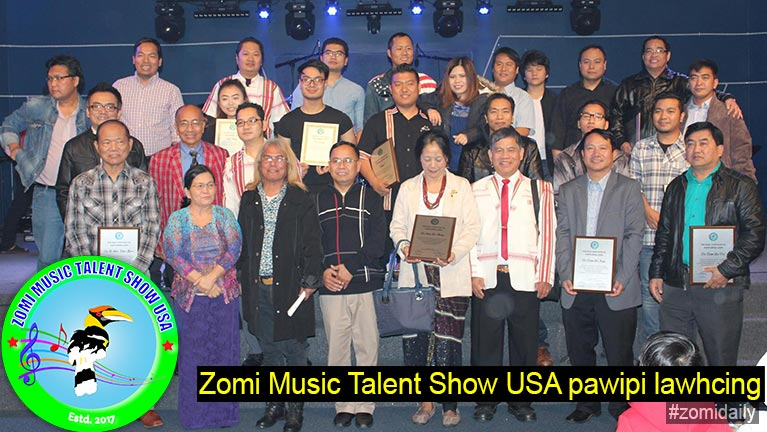 Zomi Music Talent Show USA pawipi lawhcing