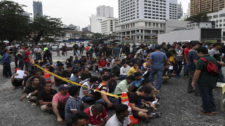 Kuala Lumpur, Jalan Alor sungah Operasi lutin mi 440 kiman