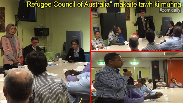 """Refugee Council of Australia"" makaite tawh ki muhna"
