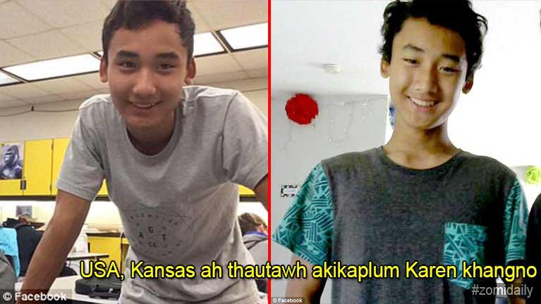 USA, Kansas ah thautawh akikaplum Karen khangno khat ii thu Update