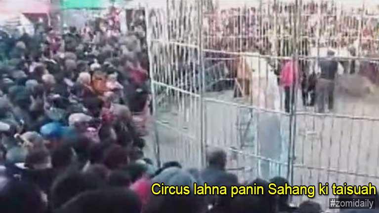 Video: Circus lahna ah Sahang ki taisuah in naupang 2 petkha
