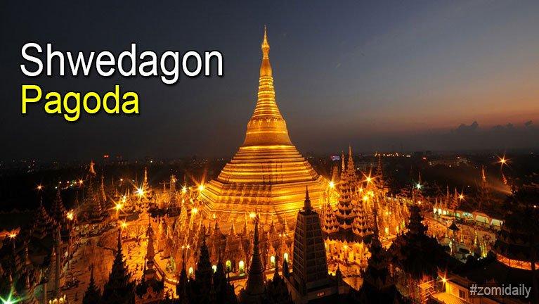 Shwedagon Pagoda ah gamdangmi te alutman Ks10,000 ah kikhantoding