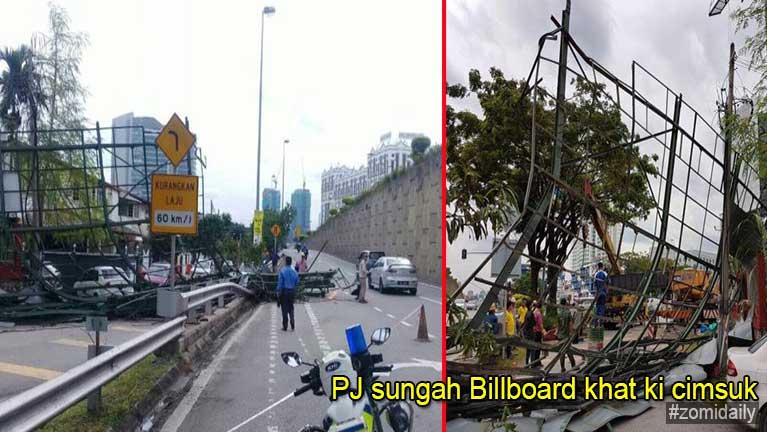 Malaysia, PJ sung aom Billboard khat kicimsuk in mipi ki patau