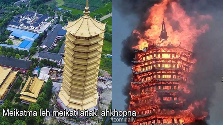 Asia gamsungah Pagoda asangpen in akiciamteh khat meikangtum