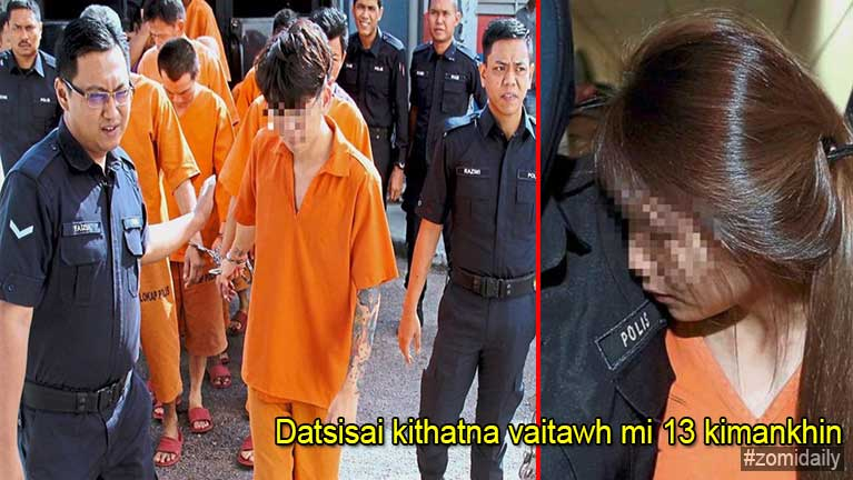 Johor datsisai kithahna vaitawh akisawhkha mi 13 kimankhin