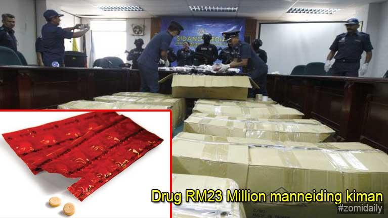 Malaysia, Penang ah vankham Drug akigawm in RM23 Million manneiding kiman