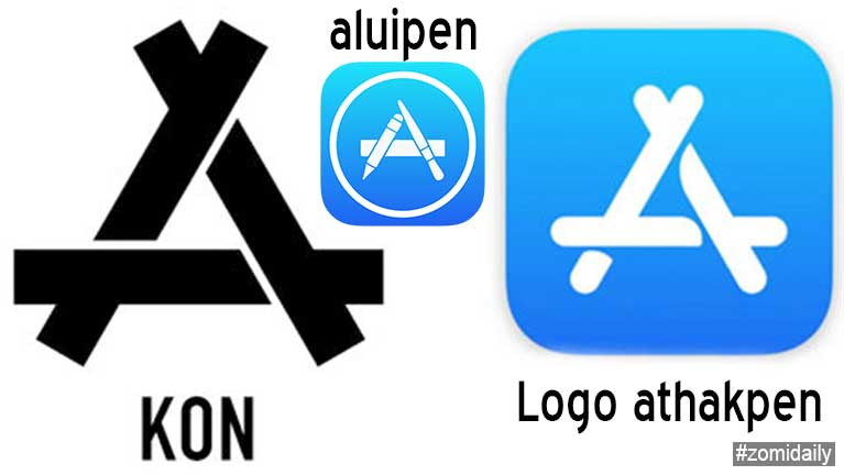 Chinese Company khatin Logo vaitawh Apple Company te thubawl