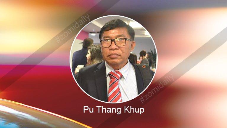 US khualzinna vai lungdam kohna ~ Pu Thang Khup