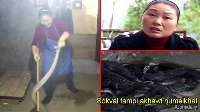China ah numeikhat in sumbawlna in Cobra Sokval gul tampikhawi