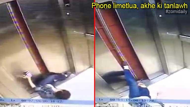 Phone etkawmkawm in numeikhat Lift sung alutleh tuksuk in akhe ki vattan