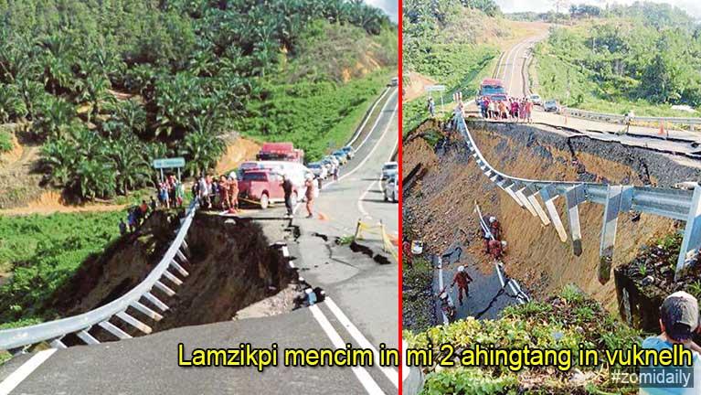 Malaysia, Kota Marudu ah lamzikpi mencim in Motorcycle tawh mi 2 ahingtang in vuknelh