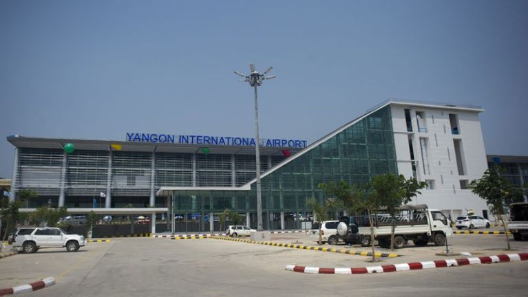 Yangon International Airport ah 2017 kumsung khualzin anawk mi 5.92 Million pha