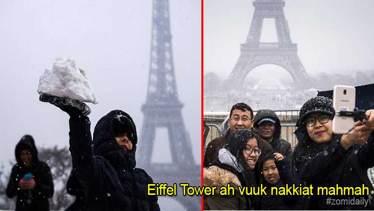 France gamsung ah vuuk limkiatlua in Eiffel Tower zong ki khakcipsak