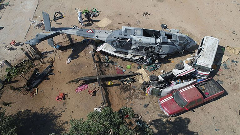 Mexico gamsung ah Helicopter khat kia in mi 13 si, 15 liam