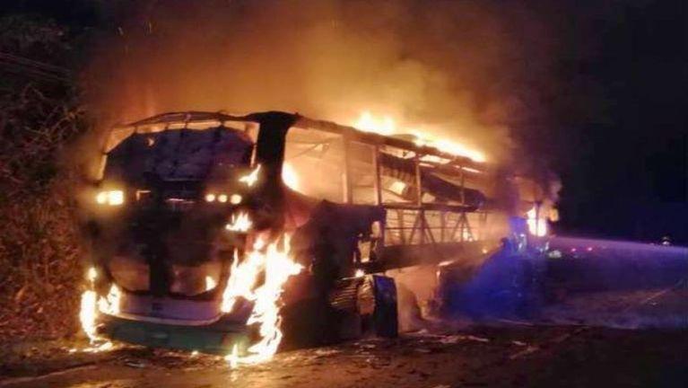 Malaysia ah Passenger mi 39 atuanna Bus golpi khat meikuanggawp