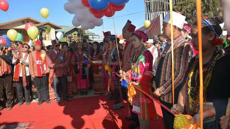 Hakha ah Chief Minister Pu Lian Luai thugenna