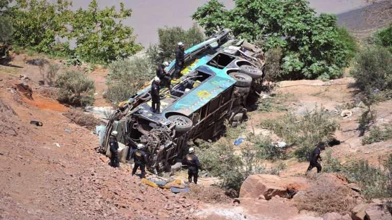 Peru gamsung ah Bus khat tuahsia, mi 44 si, 11 liam