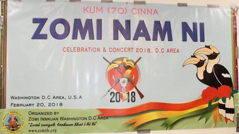 Washington D.C Area ah Kum (70) cinna Zomi Nam Ni picing tak in kibawl