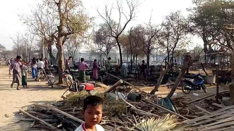 Myanmar, Magwe Region sungah inn 150 meikangtum, mi 890 inn neinawnlo