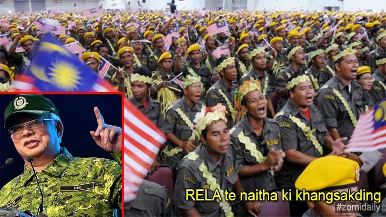 Malaysia gamsunga Operasi aomciang abuaimahmah RELA te naitha kikhansak